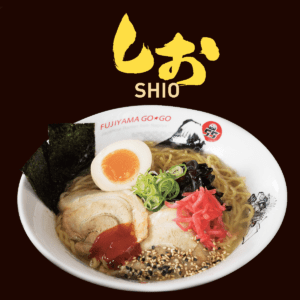 濃厚豚骨塩ラーメン / TONKOTSU SHIO RAMEN